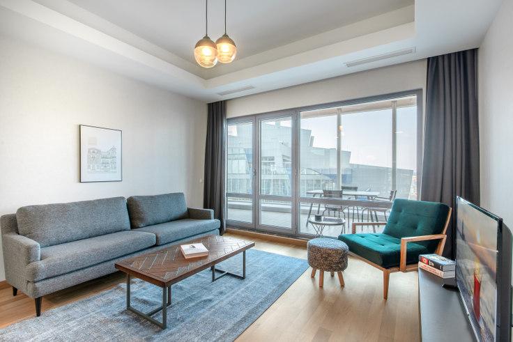 1 bedroom furnished apartment in Maslak 1453 - 343 343, Maslak, Istanbul, photo 1