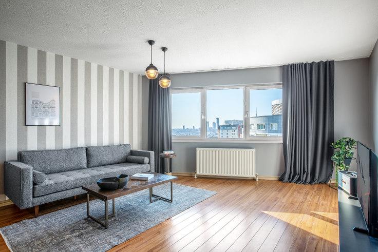 2 bedroom furnished apartment in Suncity - 349 349, Batı Ataşehir, Istanbul, photo 1