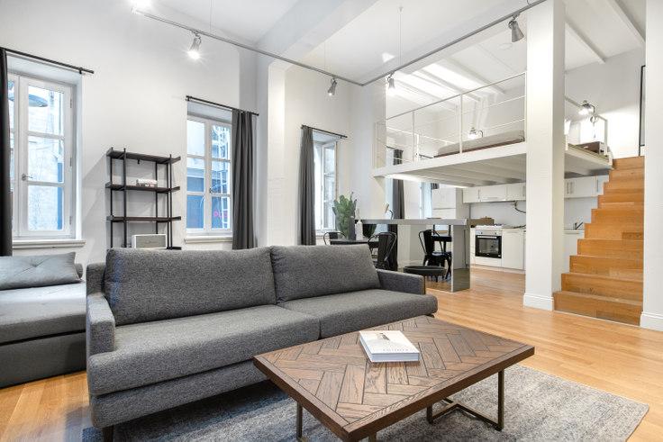1 bedroom furnished apartment in Canova - 351 351, Cihangir, Istanbul, photo 1