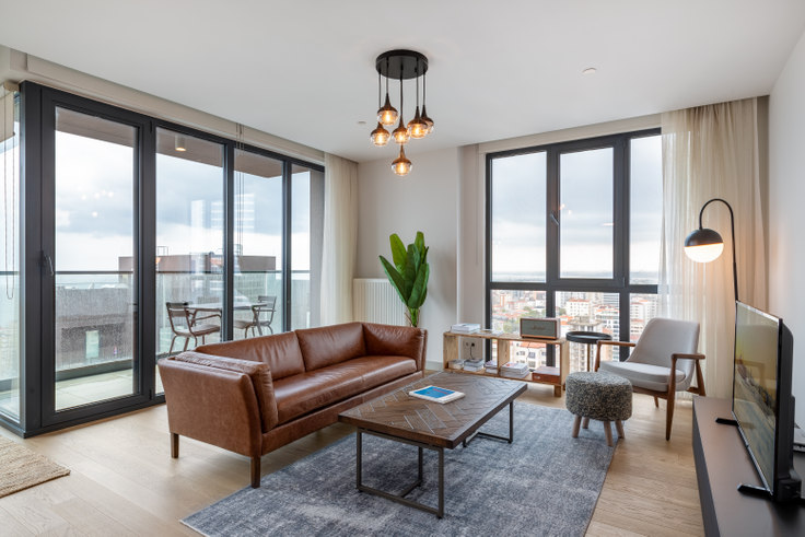 3 bedroom furnished apartment in Kontek Düet - 353 353, Göztepe, Istanbul, photo 1