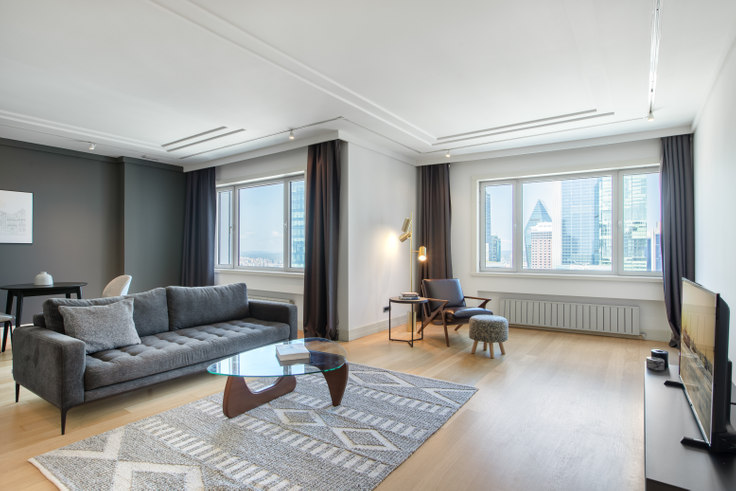 1 bedroom furnished apartment in Metrocity - 354 354, Levent, Istanbul, photo 1