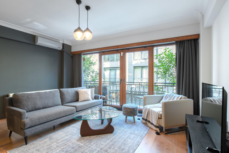 2 bedroom furnished apartment in Atasoy - 356 356, Nişantaşı, Istanbul, photo 1