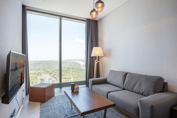 Studio furnished apartment in Skyland - 361 361, Huzur, Istanbul, photo 1
