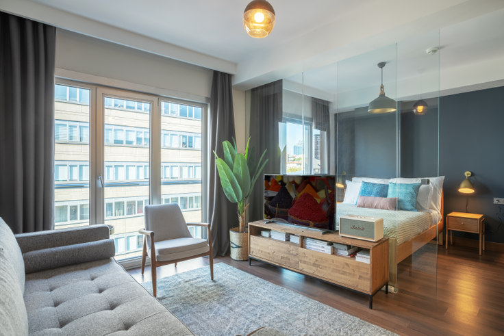 2 bedroom furnished apartment in Motivada - 362 362, Bomonti, Istanbul, photo 1