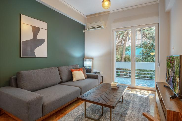 2 bedroom furnished apartment in Dimitressa III 750, Vasilissis Sofias Avenue, Athens, photo 1