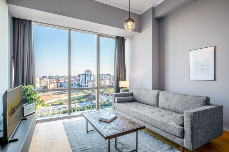 1 bedroom furnished apartment in Suryapı Exen - 364 364, Ümraniye, Istanbul, photo 1