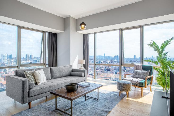 2 bedroom furnished apartment in Suryapı Exen - 367 367, Ümraniye, Istanbul, photo 1