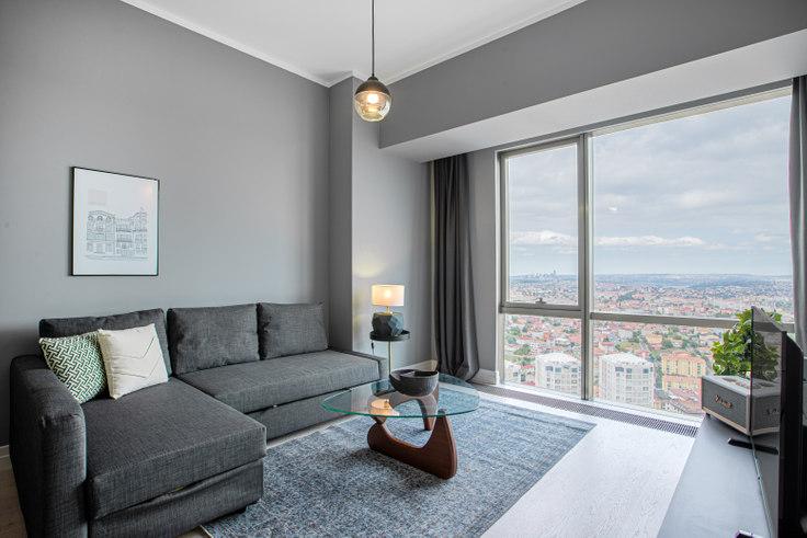 1 bedroom furnished apartment in Suryapı Exen - 369 369, Ümraniye, Istanbul, photo 1