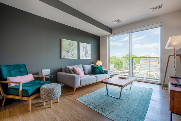 1 bedroom furnished apartment in Lofts at Kendall Square, 249 Third St 162, Kendall Square, Boston, photo 1