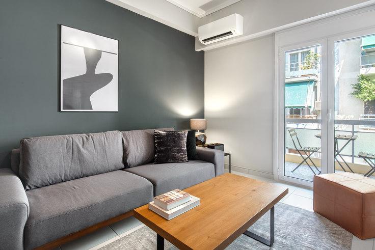 1 bedroom furnished apartment in Meintani 755, Koukaki, Athens, photo 1