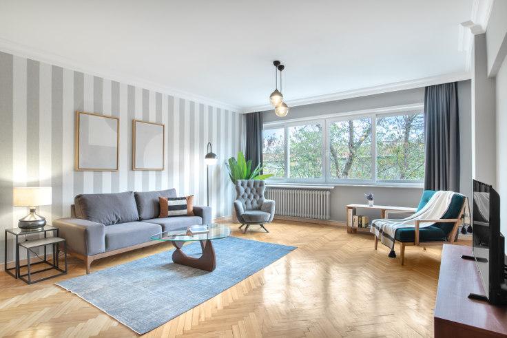 3 bedroom furnished apartment in Bayram Polat - 374 374, Etiler, Istanbul, photo 1