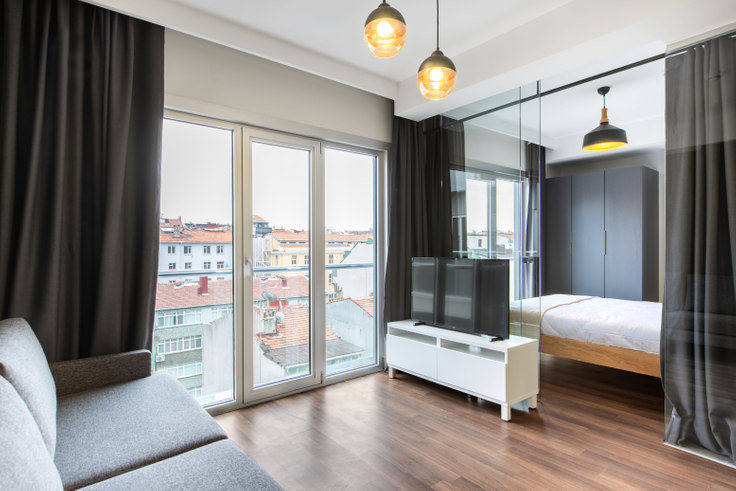 2 bedroom furnished apartment in Motivada - 376 376, Bomonti, Istanbul, photo 1