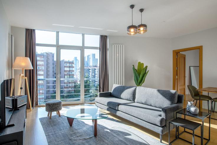 1 bedroom furnished apartment in Selenium Panorama - 377 377, Gayrettepe, Istanbul, photo 1