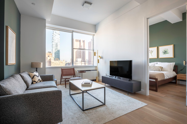1 bedroom furnished apartment in 50 Murray Street 349, Tribeca, New York, photo 1