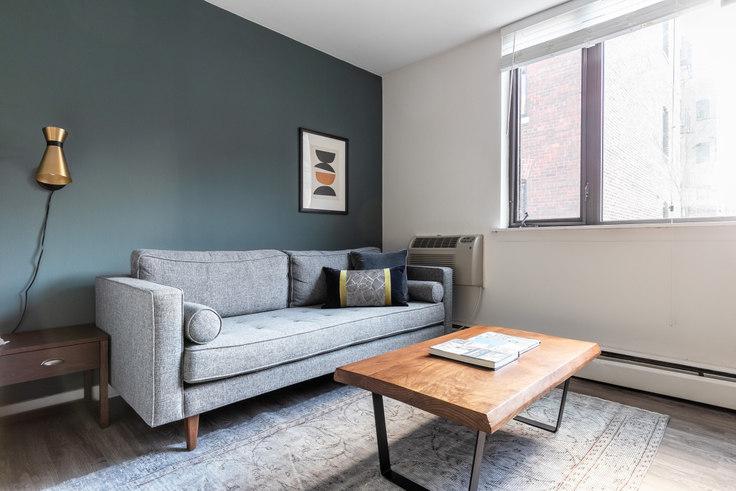 Studio furnished apartment in 20 E Scott St 129, Gold Coast, Chicago, photo 1