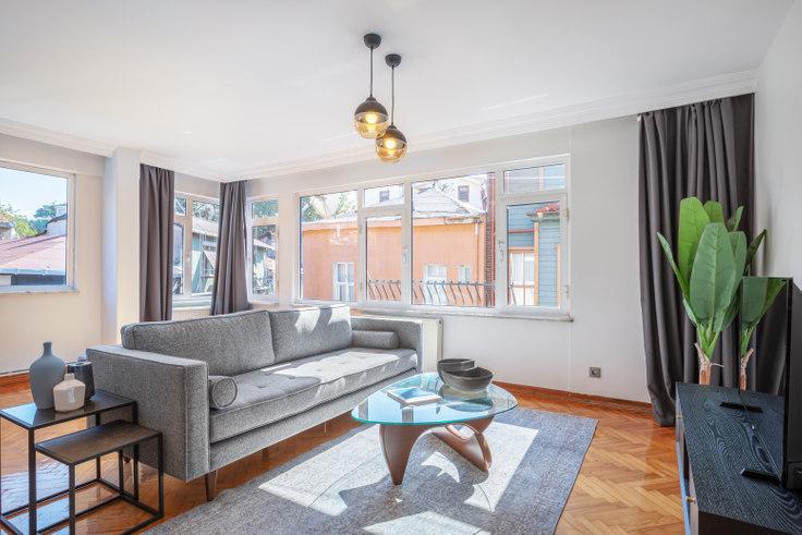 2 bedroom furnished apartment in Dolaplıkuyu - 384 384, Arnavutköy, Istanbul, photo 1