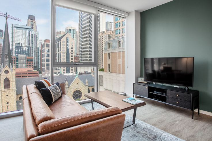 1 bedroom furnished apartment in 8 E Huron St 132, River North, Chicago, photo 1