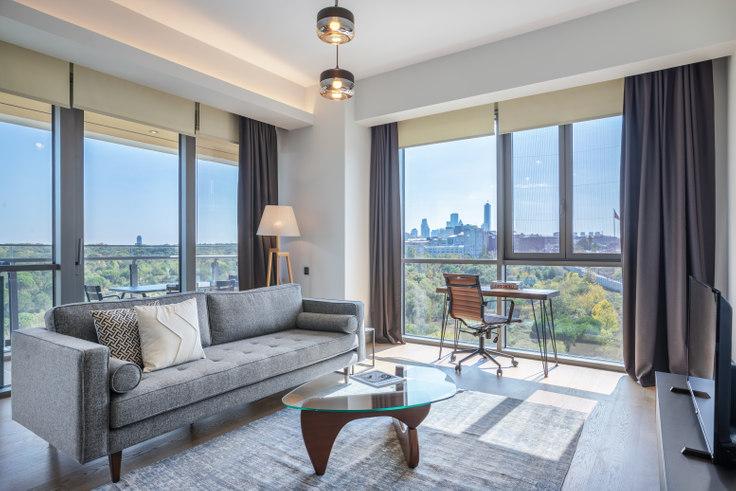 3 bedroom furnished apartment in Nidapark - 389 389, Huzur, Istanbul, photo 1