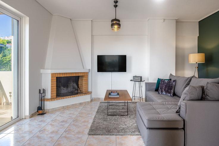 1 bedroom furnished apartment in Athanasiou Diakou VI 759, Vrilissia, Athens, photo 1