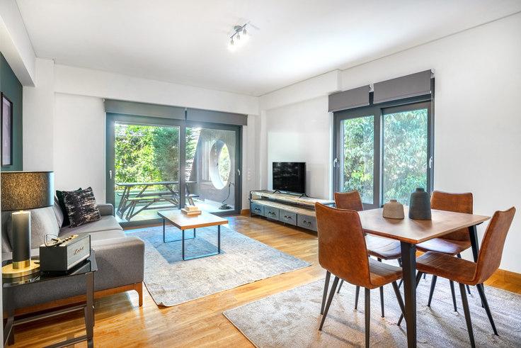 1 bedroom furnished apartment in Venezouelas II 760, Glyfada, Athens, photo 1