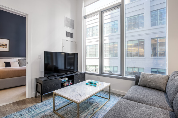 1 bedroom furnished apartment in 33 Tehama St 204, Rincon Hill, San Francisco Bay Area, photo 1