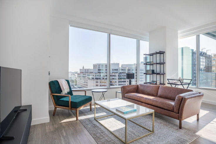 2 bedroom furnished apartment in 33 Tehama St 206, Rincon Hill, San Francisco Bay Area, photo 1