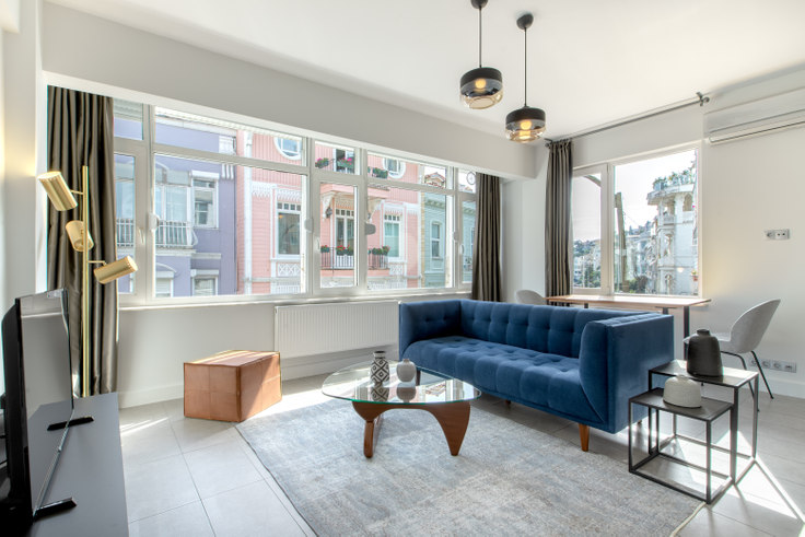 1 bedroom furnished apartment in Arnavutkoy 53 - 391 391, Arnavutköy, Istanbul, photo 1