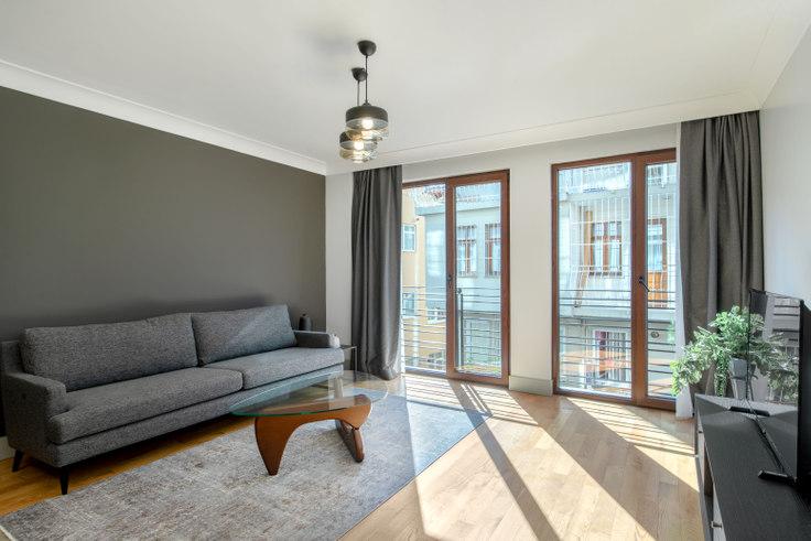 2 bedroom furnished apartment in Keten Çırağan - 393 393, Yıldız, Istanbul, photo 1