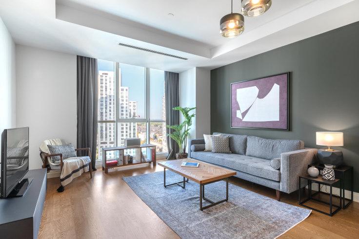 1 bedroom furnished apartment in Mashattan - 396 396, Maslak, Istanbul, photo 1