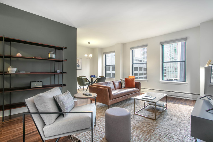 1 bedroom furnished apartment in The Seneca, 200 E Chestnut St 142, Gold Coast, Chicago, photo 1