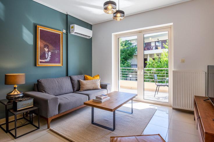 2 bedroom furnished apartment in Markou Mpotsari II 774, Marousi, Athens, photo 1