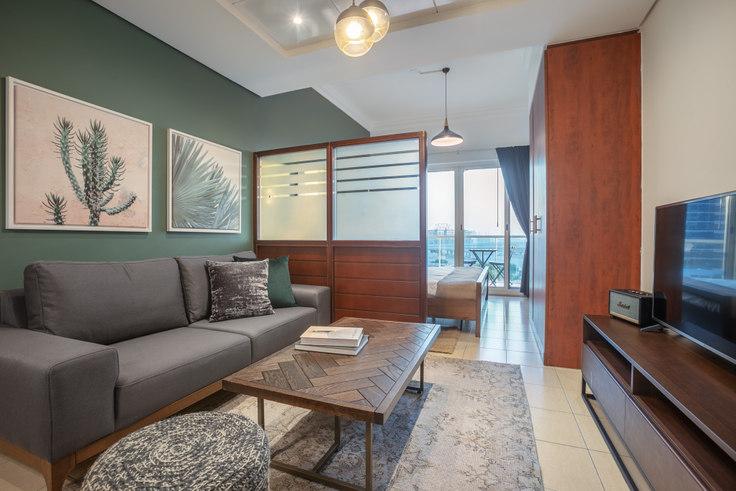 Studio furnished apartment in Lake View Studio II 522, Lake View, Dubai, photo 1