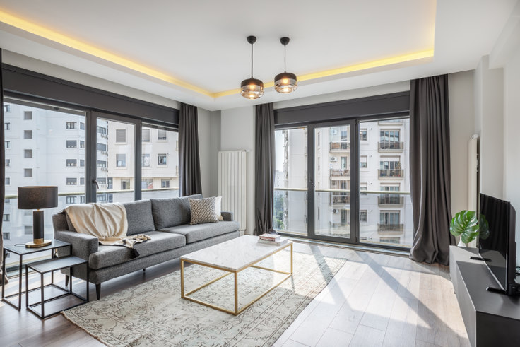 2 bedroom furnished apartment in Güneş - 406 406, Suadiye, Istanbul, photo 1