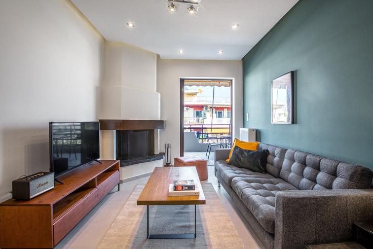 2 bedroom furnished apartment in Giasemion 787, Chalandri, Athens, photo 1