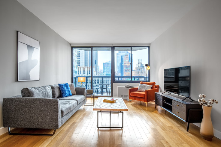 1 bedroom furnished apartment in The Ritz Plaza, 235 W 48th St 379, Midtown, New York, photo 1