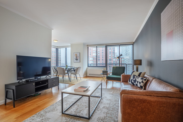 2 bedroom furnished apartment in The Ritz Plaza, 235 W 48th St 381, Midtown, New York, photo 1