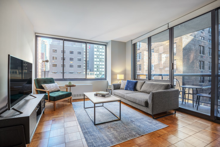 1 bedroom furnished apartment in The Ritz Plaza, 235 W 48th St 383, Midtown, New York, photo 1