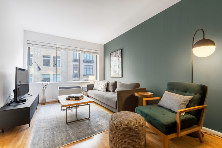 1 bedroom furnished apartment in The Chelsea, 160 W 24th St 386, Chelsea, New York, photo 1