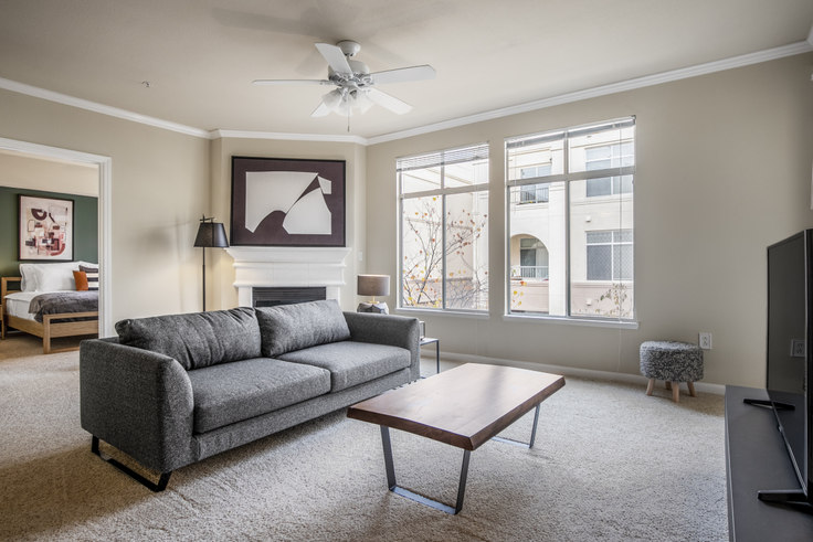 2 bedroom furnished apartment in Park Place San Mateo 4, 1020 Yates Way 230, San Mateo, San Francisco Bay Area, photo 1