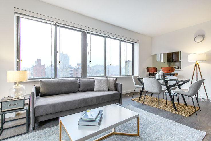 2 bedroom furnished apartment in The Chelsea, 160 W 24th St 389, Chelsea, New York, photo 1