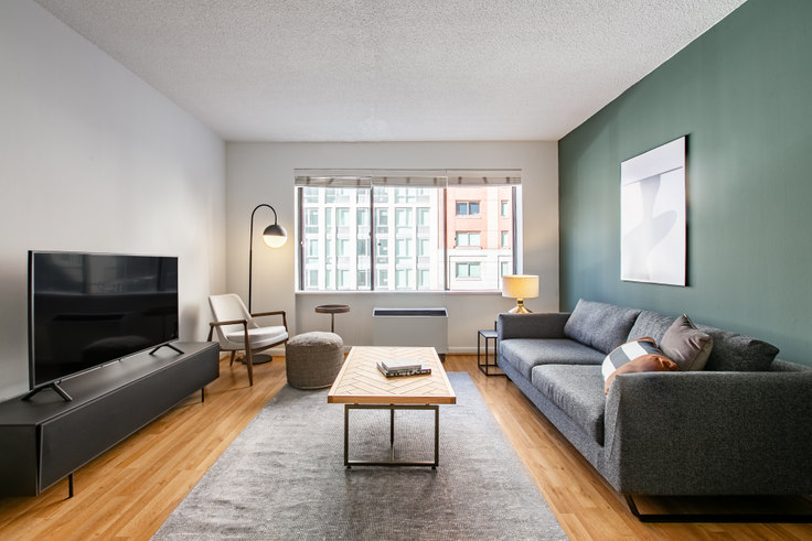 1 bedroom furnished apartment in The Chelsea, 160 W 24th St 390, Chelsea, New York, photo 1