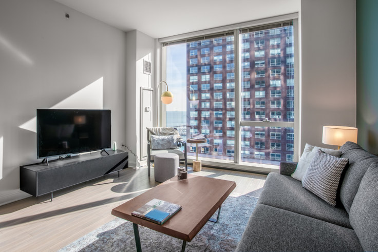 1 bedroom furnished apartment in 500 N Lake Shore Dr 157, Streeterville, Chicago, photo 1