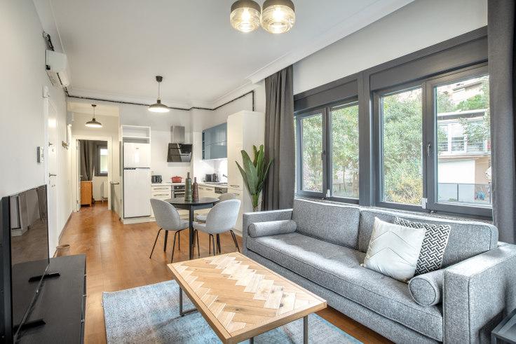3 bedroom furnished apartment in Kalamış Avangarde - 412 412, Fenerbahçe, Istanbul, photo 1