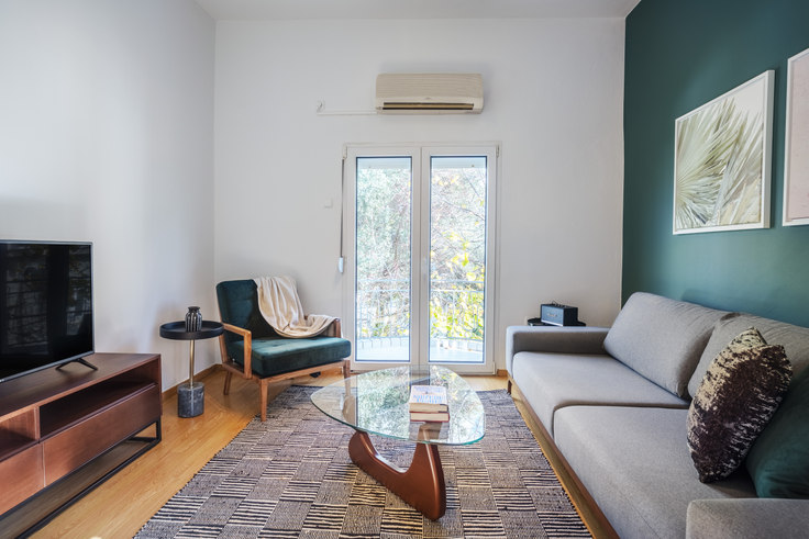 1 bedroom furnished apartment in Dimokratias II 790, Psychiko, Athens, photo 1