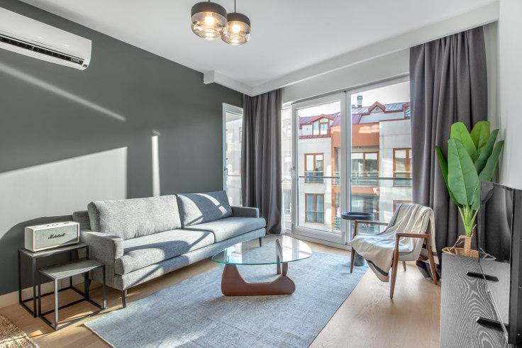2 bedroom furnished apartment in Karma Suites - 415 415, Göktürk, Istanbul, photo 1
