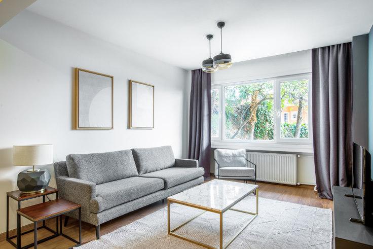 1 bedroom furnished apartment in Engin - 416 416, Bebek, Istanbul, photo 1
