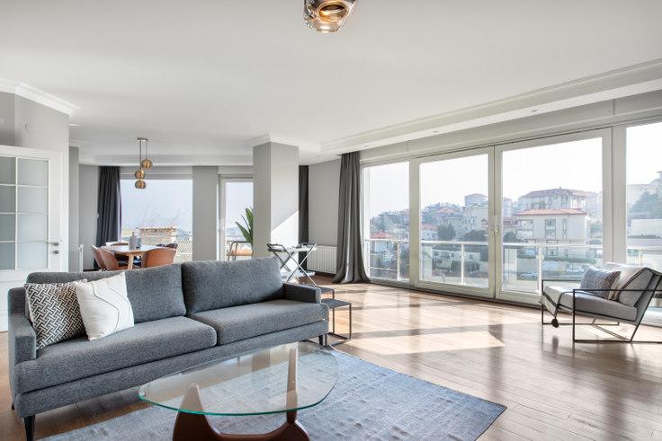 4 bedroom furnished apartment in Aksoy - 417 417, Tarabya, Istanbul, photo 1