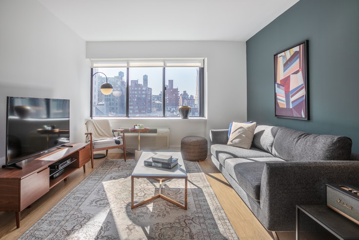 2 bedroom furnished apartment in The Chelsea, 160 W 24th St 399, Chelsea, New York, photo 1