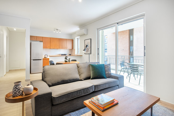 2 bedroom furnished apartment in Karea 793, Mets - Kallimarmaro, Athens, photo 1