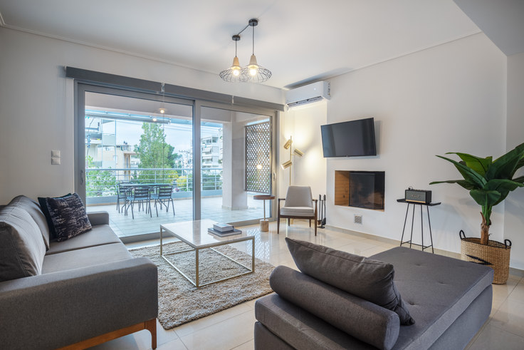 3 bedroom furnished apartment in Ivis 794, Chalandri, Athens, photo 1